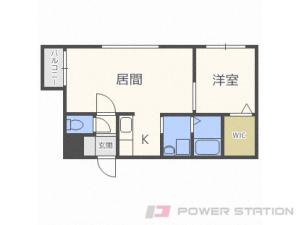 札幌市中央区南4条東4丁目0賃貸マンション間取図面