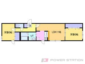 札幌市中央区南27条西13丁目01賃貸マンション間取図面