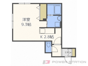 札幌市中央区南11条西14丁目01賃貸マンション間取図面