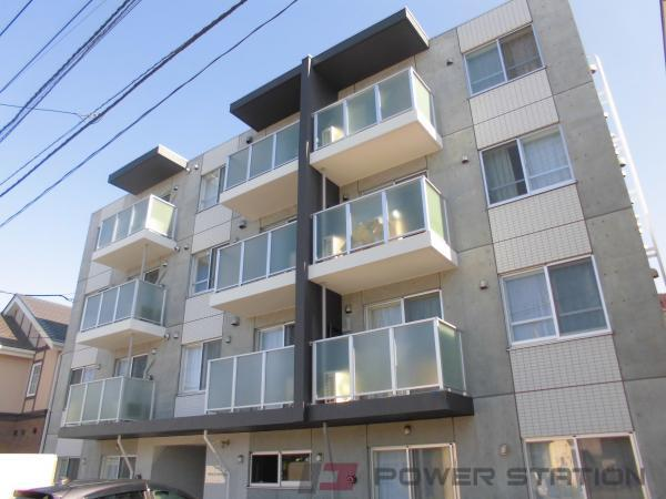 札幌市中央区南5条西17丁目0賃貸マンション外観写真