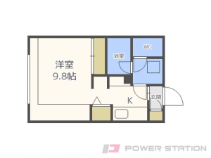 札幌市中央区南5条西9丁目01賃貸マンション間取図面