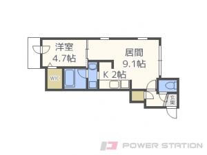札幌市中央区南9条西6丁目0賃貸マンション