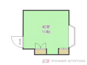 札幌市中央区大通西15丁目0賃貸アパート間取図面