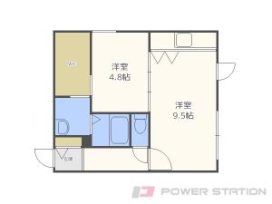 札幌市中央区南14条西7丁目0賃貸マンション間取図面