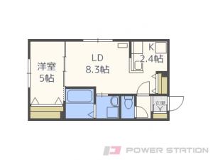 札幌市中央区北1条東8丁目01賃貸マンション間取図面