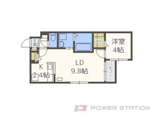 札幌市中央区北1条東8丁目0賃貸マンション間取図面