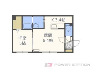 札幌市中央区南8条西12丁目1賃貸マンション
