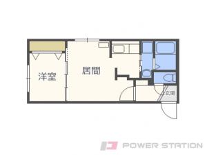 札幌市中央区北5条西13丁目01賃貸マンション間取図面
