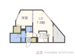 札幌市中央区南9条西7丁目01賃貸マンション間取図面