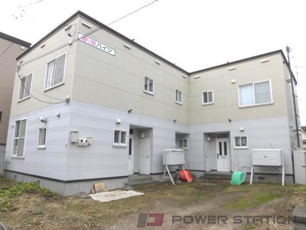 江別市牧場町1賃貸アパート外観写真