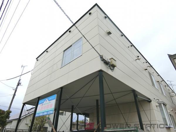江別市見晴台1賃貸アパート外観写真