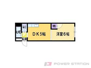 江別市弥生町1賃貸マンション間取図面
