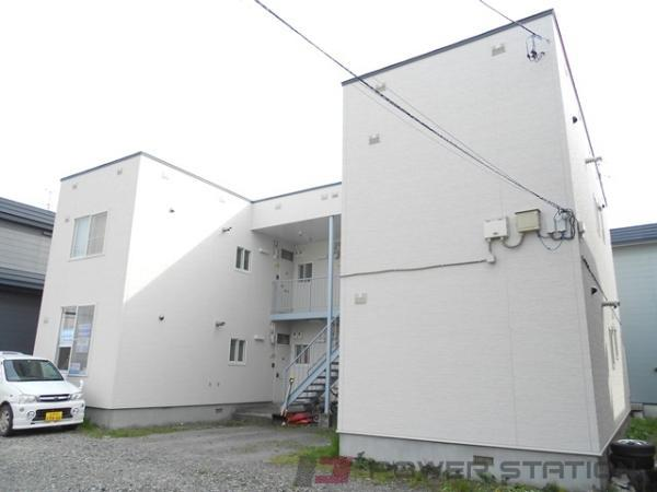 江別市弥生町0賃貸アパート外観写真