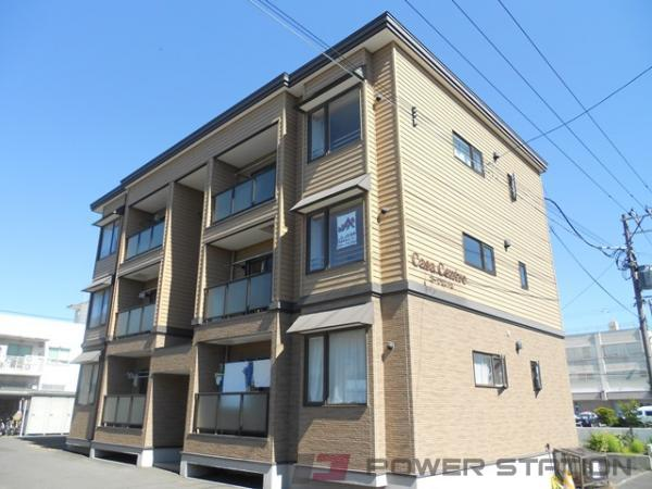 江別市弥生町1賃貸アパート外観写真