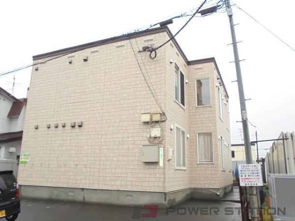 江別市錦町0賃貸アパート外観写真