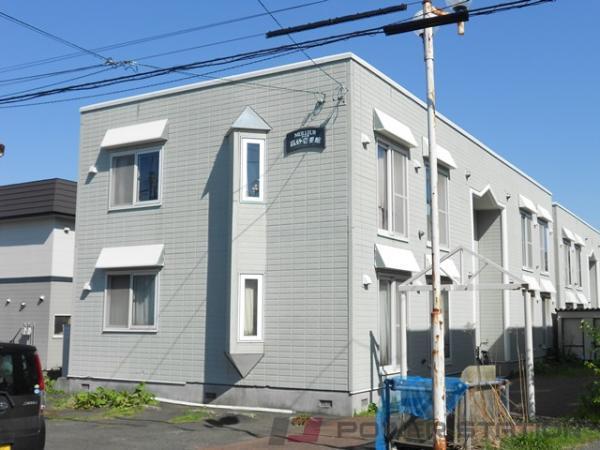 江別市高砂町0賃貸アパート外観写真