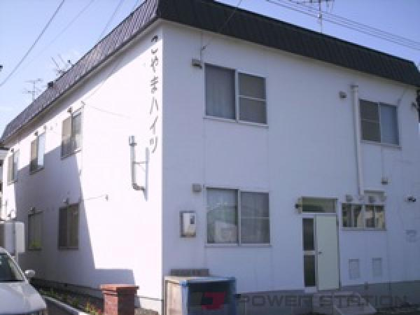 野幌1DKアパート外観