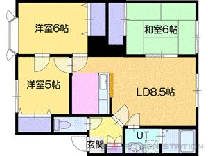 アパート・パナハイツ松庵C