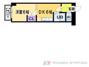 江別市野幌末広町0分譲リースマンション間取図面