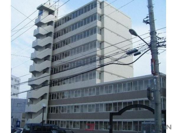 野幌1DK分譲リースマンション外観