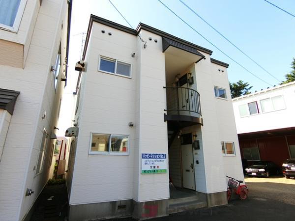 江別市野幌末広町0賃貸アパート外観写真