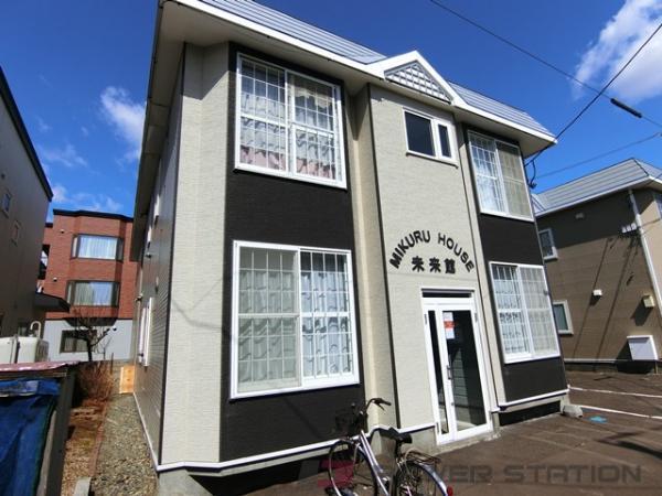 江別市野幌松並町0賃貸アパート外観写真