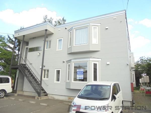 江別市野幌町0賃貸アパート外観写真