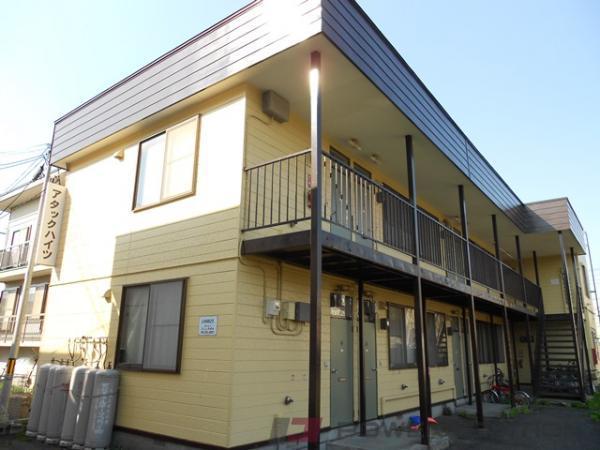 野幌1Rアパート外観