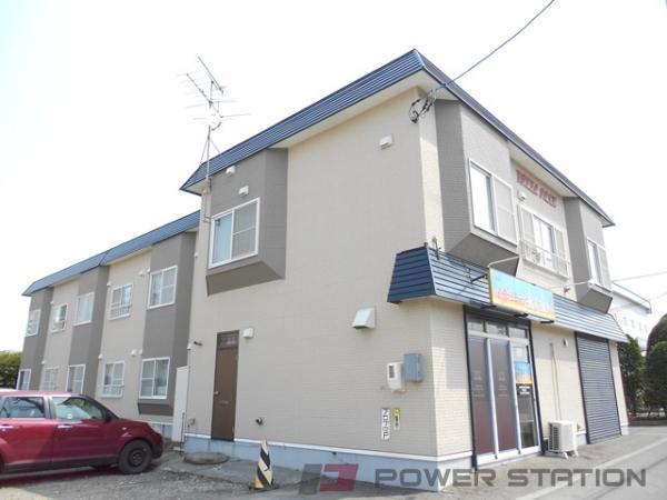 野幌2LDKアパート外観