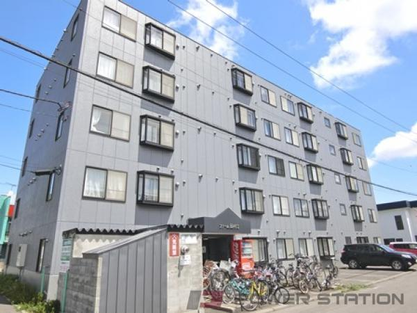 江別市野幌若葉町1賃貸マンション外観写真
