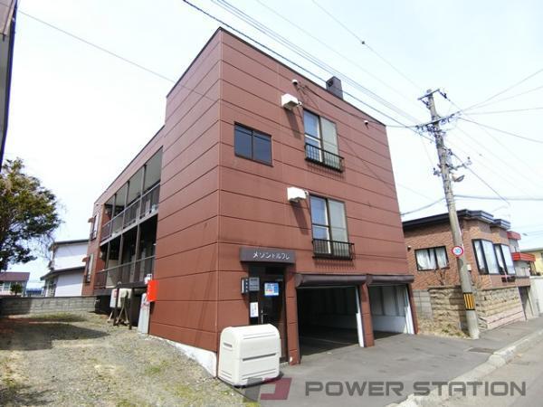 江別市野幌若葉町1賃貸アパート外観写真