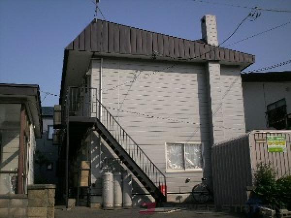 江別市大麻泉町1賃貸アパート外観写真