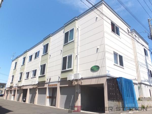 江別市大麻扇町0賃貸アパート外観写真