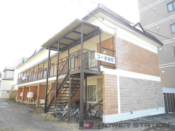 江別市大麻沢町0賃貸アパート外観写真