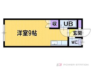 江別市文京台東町0賃貸アパート間取図面