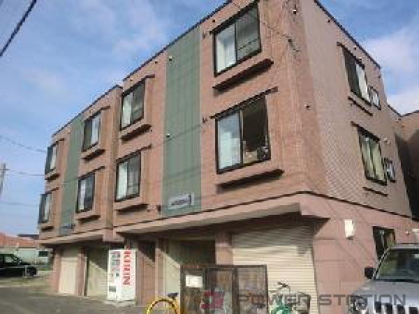 江別市アパート 1K