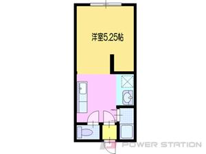 江別市文京台1賃貸アパート間取図面