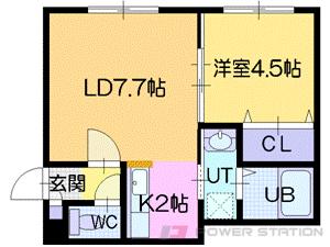 サードエポック文京台:3号室タイプ