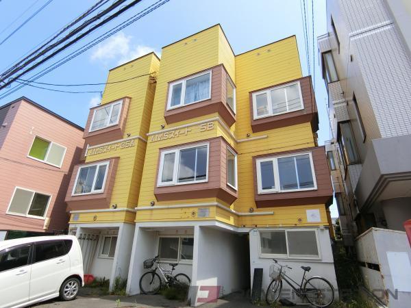 江別市文京台東町1賃貸アパート