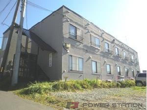 江別市文京台0賃貸アパート外観写真