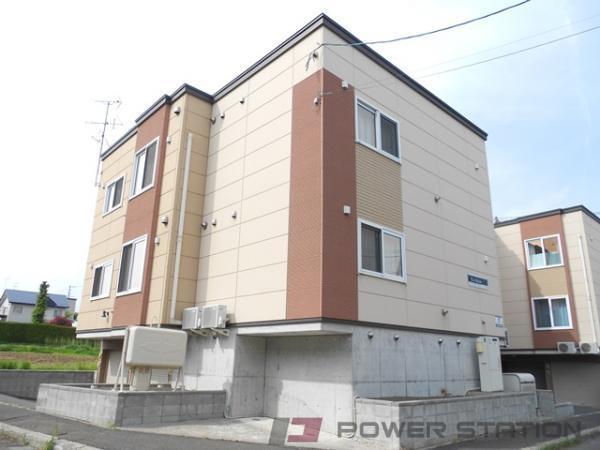 江別市緑ヶ丘0賃貸アパート外観写真