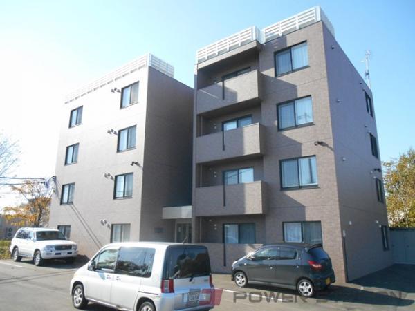 江別市一番町1賃貸マンション外観写真