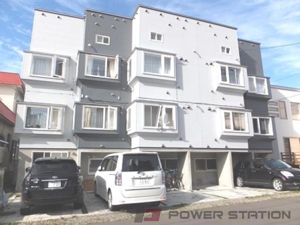 江別市文京台東町1賃貸アパート外観写真