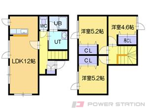 メニーズコート東江別:C号室