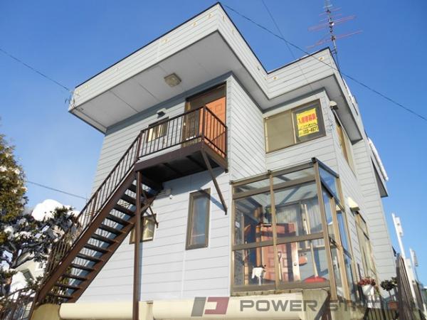 江別市緑町東3丁目1一戸建貸家外観写真