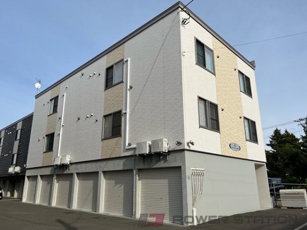 江別市中央町0賃貸アパート外観写真