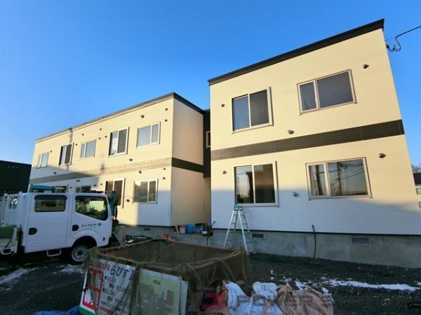 江別市牧場町0賃貸アパート外観写真