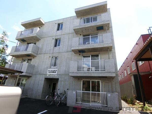 江別市文京台東町11賃貸マンション外観写真