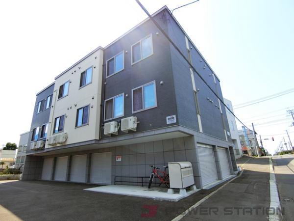 江別市野幌松並町01賃貸アパート外観写真