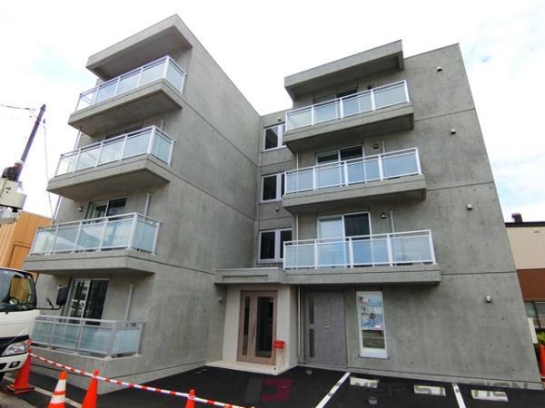 江別市野幌町01賃貸マンション外観写真